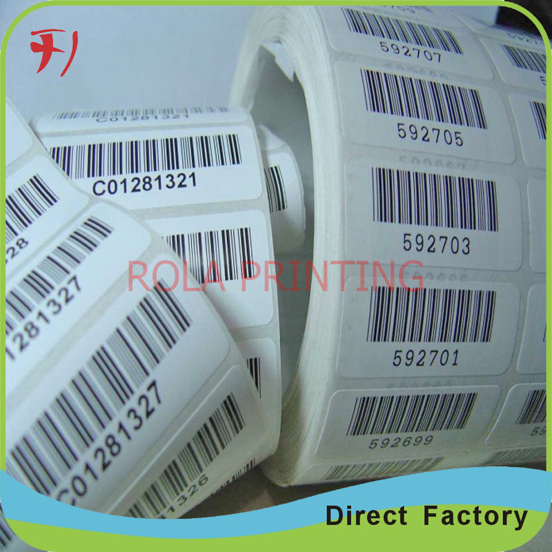 Customized Attractive and High Quality Custom Adhesive Paper Roll,Adhesive Power Safe Roll Labels, Roll Sticker Printing