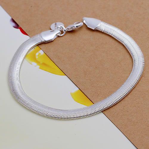 """Silver plated bracelet """"Snake"""" 1"""