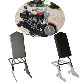 Motorcycle Backrest Sissy Bar with Luggage Rack For Harley Softail Night Train 1998-1999 Heritage Springer 1997-1999 Custom