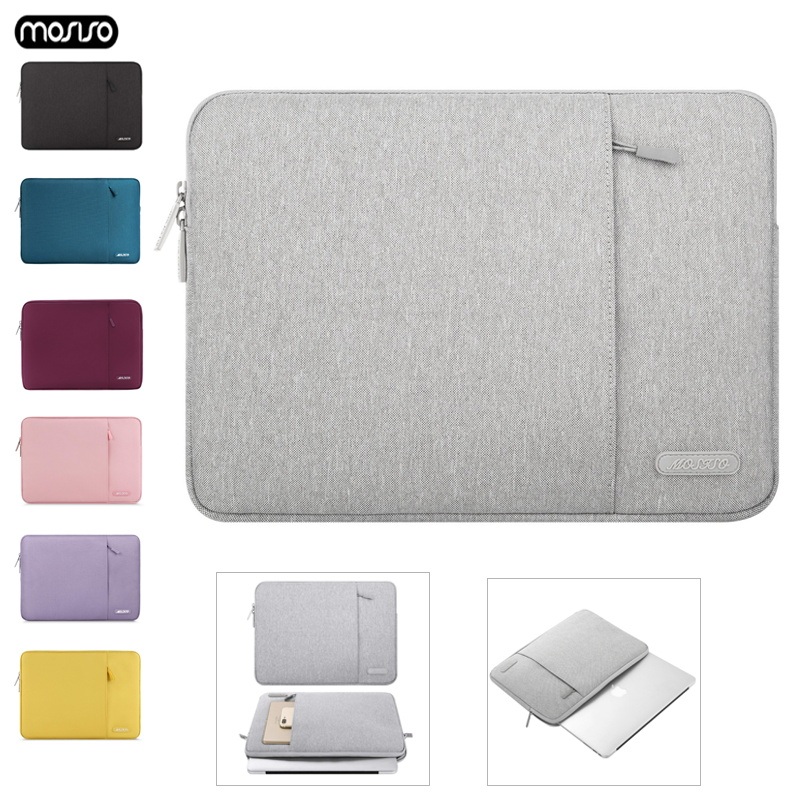 MOSISO Notebook Bag 15 6 14 13 3 12 11 6 inch Laptop Sleeve Bag Soft Bags For Macbook Air Pro Retina Xiaomi Dell HP Lenovo Asus in Laptop Bags Cases from Computer Office