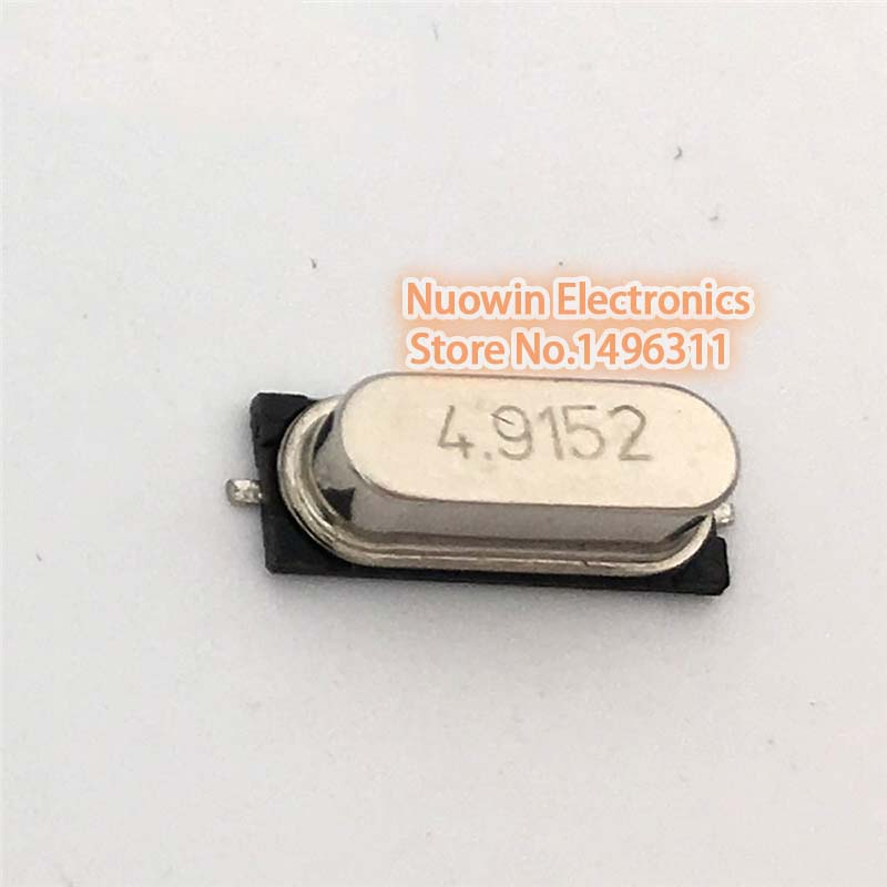 14.7456 MHZ new 100PCS Crystal Oscillator HC-49S SMD 14.7456MHz