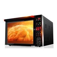 4 schicht 80L Große Kapazität Warmluftzirkulation Backofen 3000 watt Kommerziellen Elektrische Ofen Kuchen Pissa Brot Ofen Heißer luft Ofen-in Öfen aus Haushaltsgeräte bei