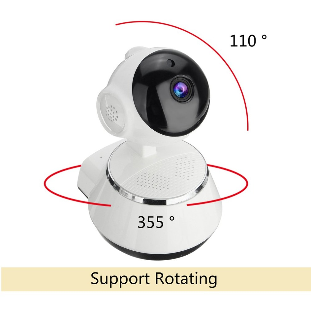 Wireless Pan Tilt HD 720p IP WiFi Camera Security CCTV CAM Network Night Vision Webcam high quality wireless pan tilt 720p security network cctv ip camera wifi webcam with different accessories