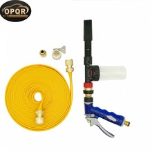 High Pressure Water Hose Nozzle Garden Sprayer for Showering Pets and Car Wash Set