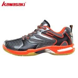 Kawasaki professional badminton shoes pvc floor mens black tennis shoes wear resistance sports sneakers k 612.jpg 250x250