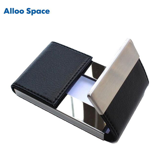Alloo space new high capacity double open men fashion business card alloo space new high capacity double open men fashion business card holder female women credit card colourmoves Images