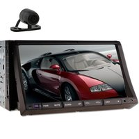 GPS Navigation Car PC With DVD CD Player 7 Inch Double Two 2 Din Headunit Car