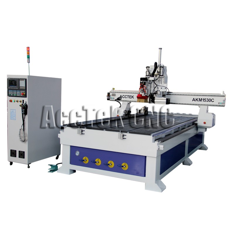 Automatic wood door making machine with saw  optional jinan cnc router factory