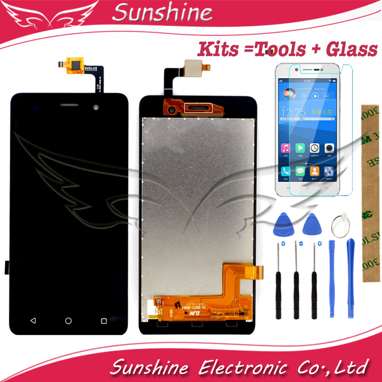 Free Shipping LCD Display For BQ BQS-5020 BQS 5020 Strike LCD Display Touch Screen Complete Assembly