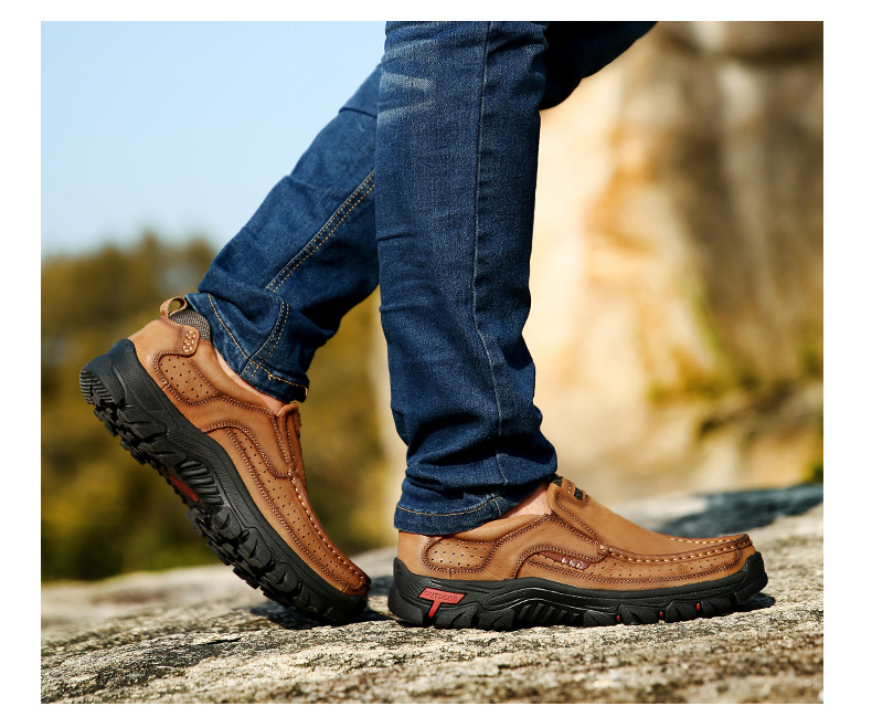 HTB1uu1DPCzqK1RjSZPcq6zTepXai New High Quality Men's shoes 100% Genuine Leather Casual Shoes Waterproof Work Shoes Cow Leather Loafers Plus Size 38-48