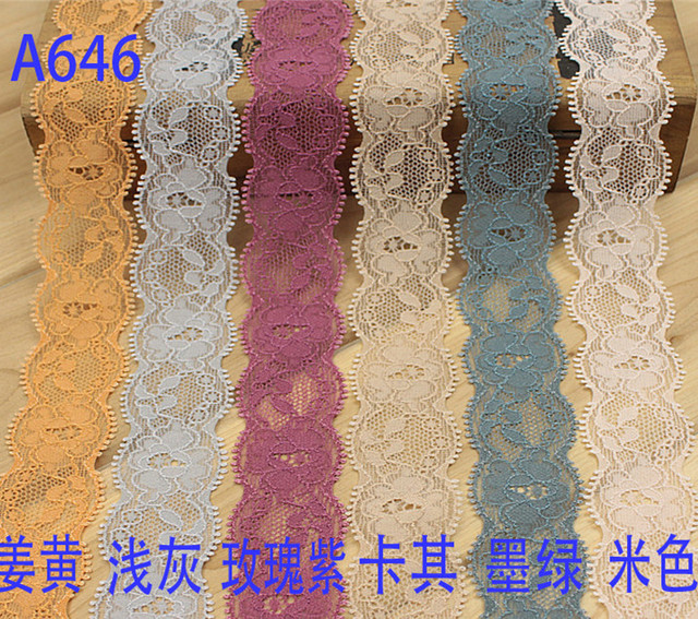 Gold Metallic Embroidered Lace Fabric Ribbon Trim Applique Scrapbooking  Venise Craft Sewing Supplies for Wedding Dress
