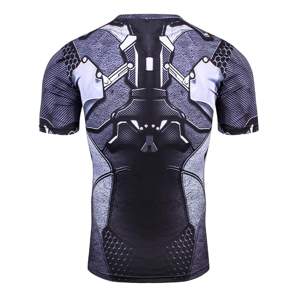 Newest Batman 3D PrintedT-Shirt Men  Compression Shirt 2