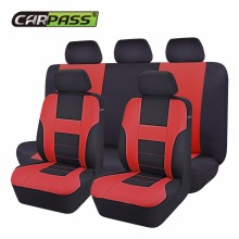Купить с кэшбэком Classic Style  High Quality Car Seat Cover Universal Fits Most Car Covers Interior Accessories Seat Covers 5 Colour