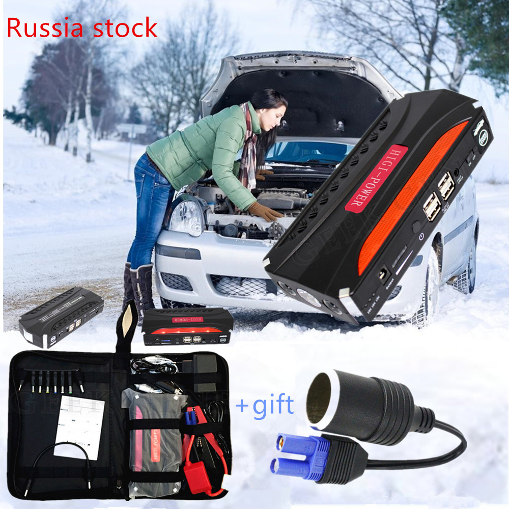 Starting Device 600A Jump Starter12V Emergency Power Bank Portable Charger For Car Battery Booster Buster Diesel Car charger