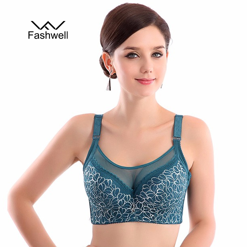 Fashion 5 color <font><b>full</b></font> <font><b>cup</b></font> large size bra floral <font><b>women</b></font> <font><b>push</b></font> <font><b>up</b></font> <font><b>lace</b></font> sexy underwear bras Free shiping