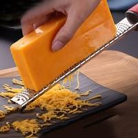 Stainless Steel Cheese Planer Shredders Multi Functional Lemon Shaver Scraper Kitchen Zester Shaver Grate Baking Tools WKA018