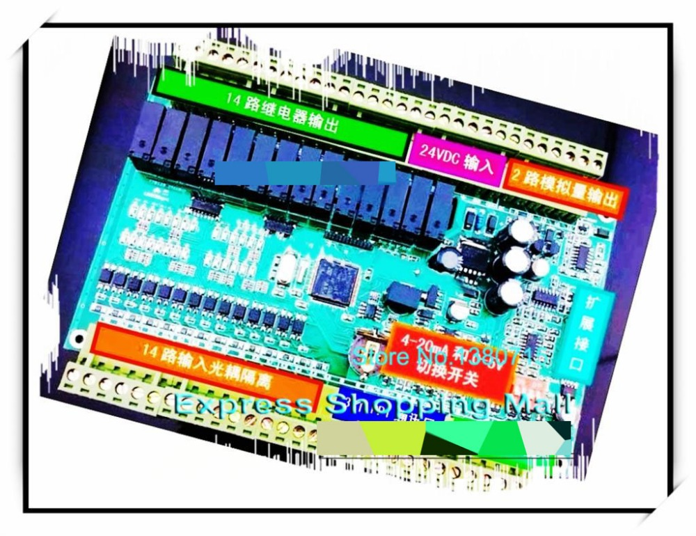 14 input 14 transistor output Single board PLC CPU224RXP-28 replace S7-200 6ES7214-2AD23-0XB0 With analog 3input 2output 3PPI
