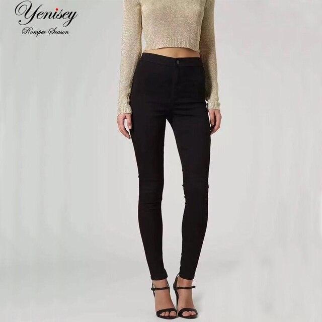 נשים של סגנון חדש אופנה גבוהה מותן ינס ז 'אן מכנסיים סקיני ג' ינס דק לנשים