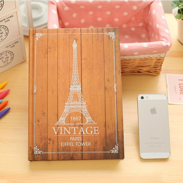 2018 New Student Creative Password Book Super Large Thickening Retro Lock Diary Notebook B5 Boxed Gift Notebook Stationery цена