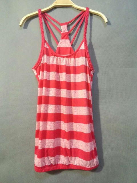 2013 summer fashion stripe small vest spaghetti strap female