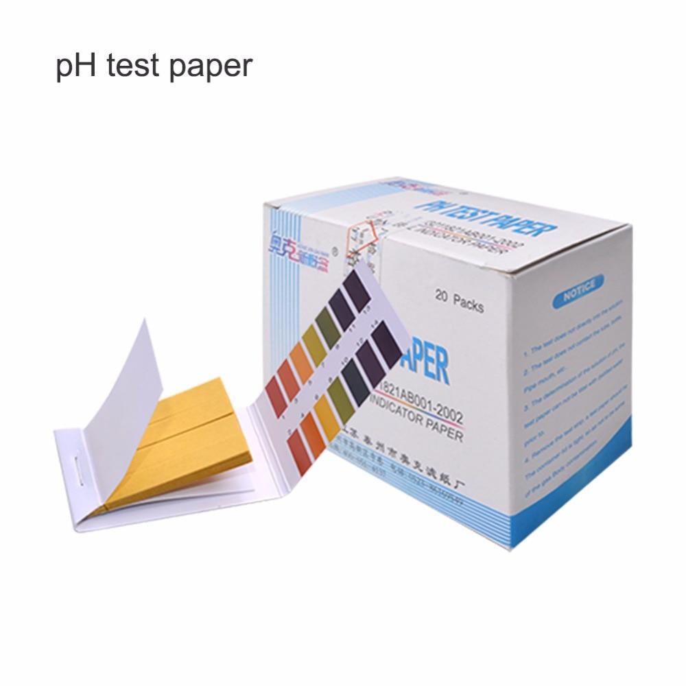 Ph Meter 20 Teile/schachtel Ph Meter Ph Teststreifen Anzeige Teststreifen 1-14/ph 5,4-7,0/ph 3,8-5,4 Papier Lackmus Tester/marke Neue Messung Weitere Rabatte üBerraschungen