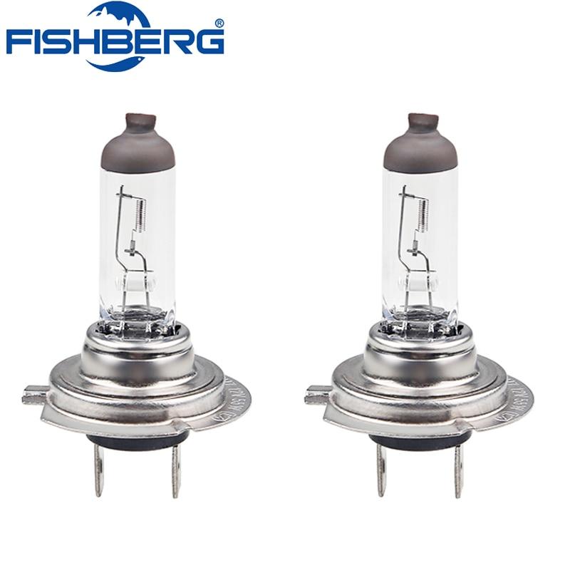 2PCS H7 12V 55W 4300K Halogen Car Light Bulb Lamp Cars Light Bulbs 4300k Parking Light H7 HeadLight Bulb Fog Lights Car Styling