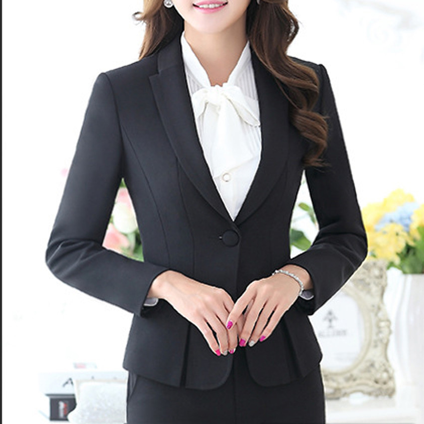 New-Hot-Fashion-Women-Ladies-Autumn-spring-Dress-Suits-Slim-Stitching-Pocket-bussiness-work-wear-Sets (3)