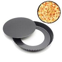 9 polegada Anti aderente Com Removível Inferior Molde Do Bolo de Pizza Pan Bakeware DIY Molde de Cozimento Natal Pratos de Cozimento| |   -