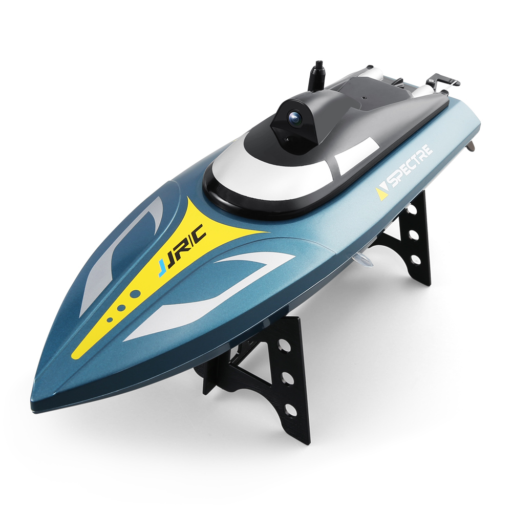 JJRC S4 High-Speed RC Boat Toy Waterproof Racing Boat Spectre with 720P HD Camera 2.4GHz Remote Control APP WiFi ConnectionJJRC S4 High-Speed RC Boat Toy Waterproof Racing Boat Spectre with 720P HD Camera 2.4GHz Remote Control APP WiFi Connection