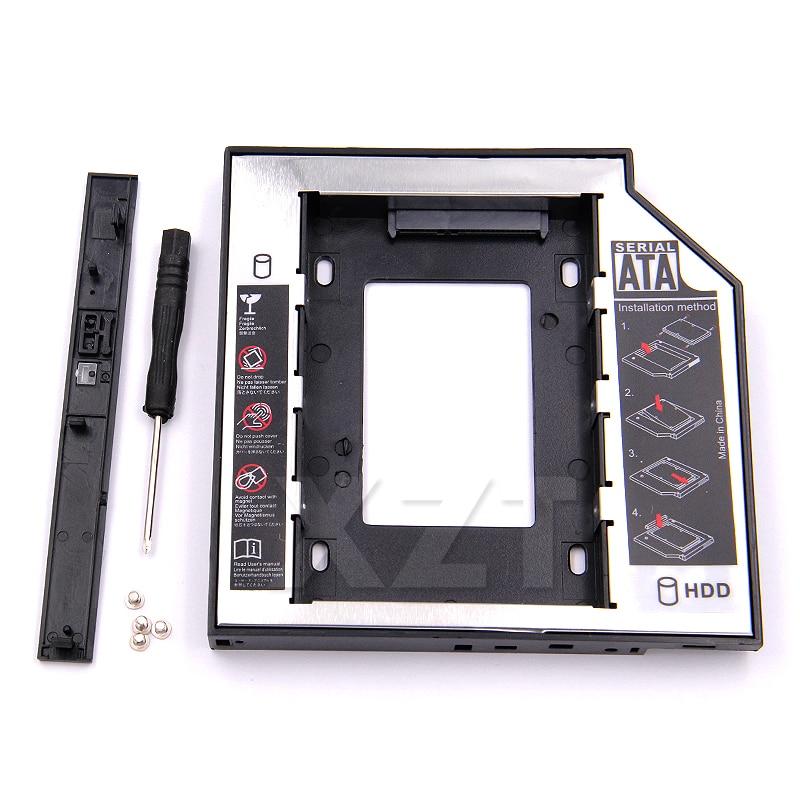 SATA 3.0 to Sata 2nd HDD Caddy Tray Hard Drive 12.7mm SSD Case Enclosure Optibay for IBM Lenovo Thinkpad R500 T420 T430 T520