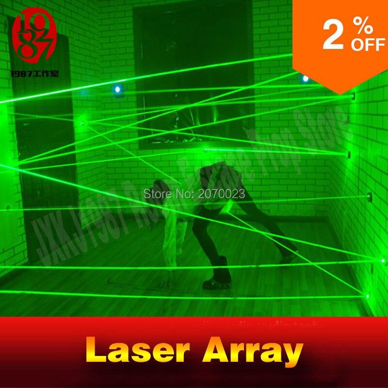 Laser de jogo sala de matriz para escapar aventureiro prop intresting e correr o risco de labirinto para a Câmara dos segredos do jogo do laser laser verde jogo