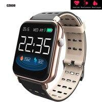 Color Fitness 3D Bracelet Blood Pressure HRV Heart Rate Meter Passometer Tracker Waterproof Smart Band Smart Watch