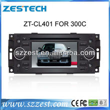 ZESTECH FREE SHIPPING 5 inch special car DVD player for CHRYSLER 300c Chrysler 300c dvd with gps dvd radio bluetooth