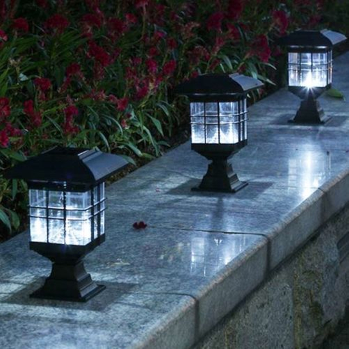 Led Lamps Search For Flights Jiguoor Palace Lantern Led Solar Powered Outdoor Garden Yard Landscape Light For Gardening Pathway Decoration Light Sensor Lamps Careful Calculation And Strict Budgeting
