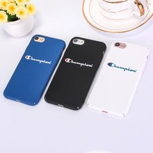 For iPhone 5 5S SE Phone Cases Fashion Champion PC Hard Back Cover Case For iPhone X For iPhone 8 7 Plus 6 6s Plus Coque Fundas