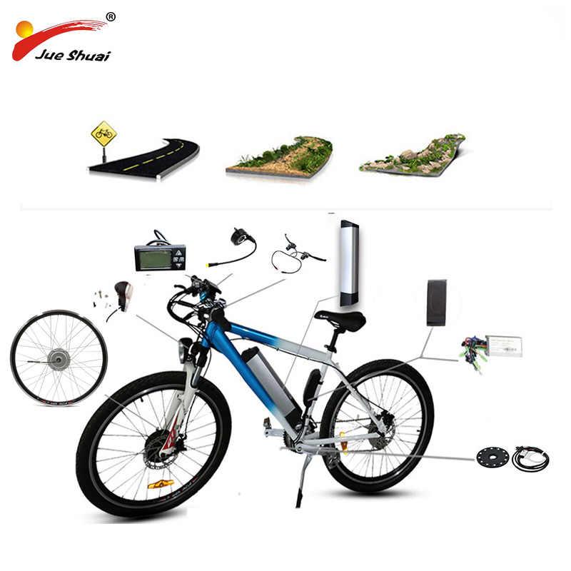 BAFANG Motor Wheel 36V 250W-350W Electric Bike Conversion Kit with Battery 8FUN Front Hub Motor bafang Ebike Electric Bike Kit