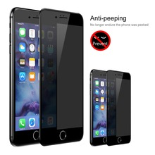 YKSPACE 3D Full Cover Anti Spy Screen Protector For iPhone 8 7 6 6s Plus 7Plus
