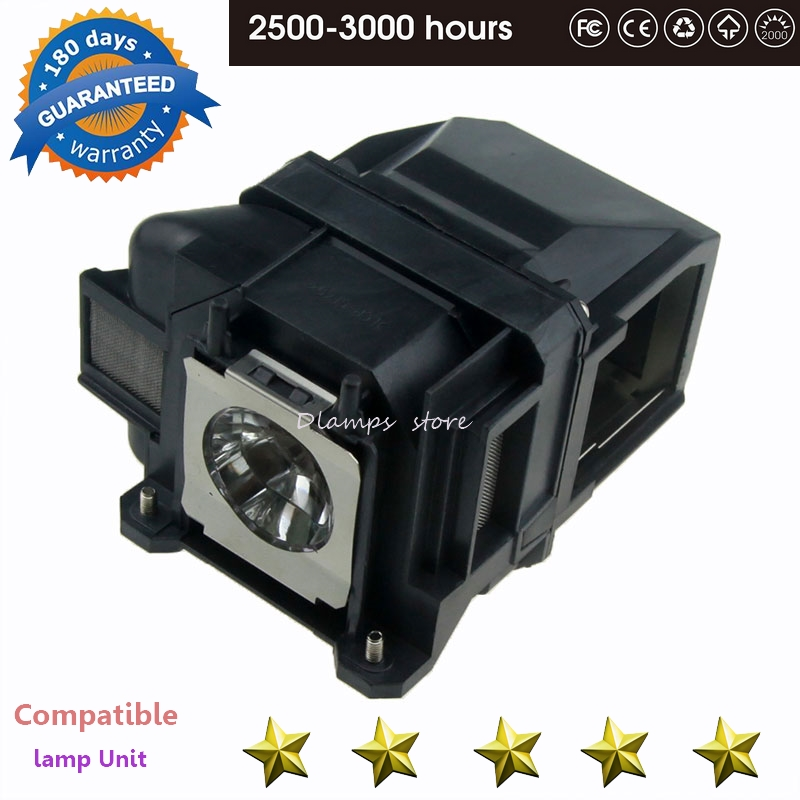 EX3220 EX5220 EX5230 EB-945 EB-955W EB-965 EB-98 EB-S17 EB-S18 EB-SXW03 Projector Lamp V13H010L78 ELPLP78 For EPSON Projectors
