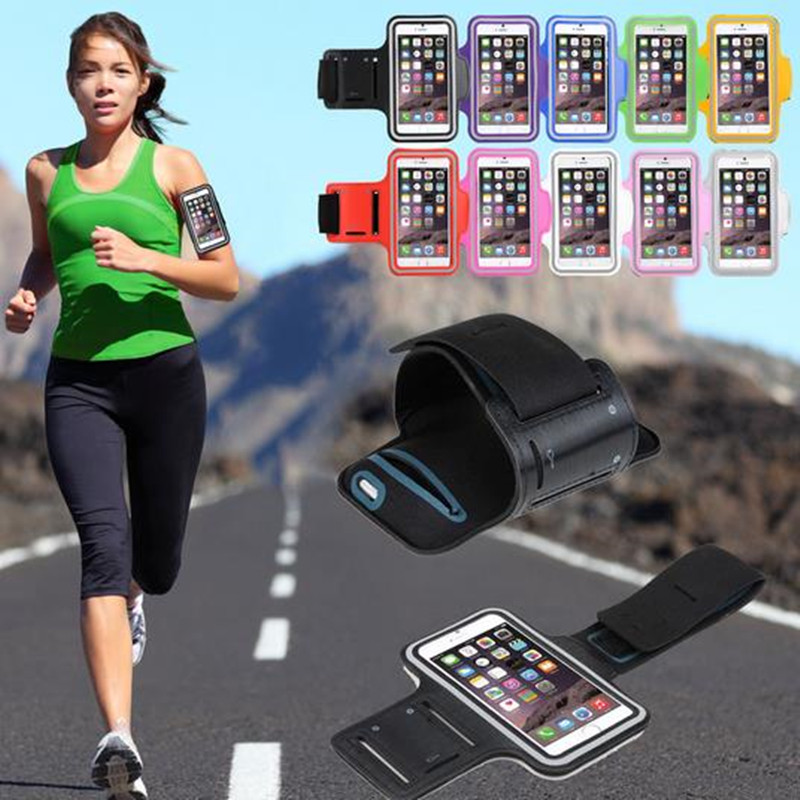 Honey Winangelove 50pcs Slim Armband Case For Iphone 6 Sport Gym Armband For Iphone 6 4.7 Jogging Running Arm Band Protective Comfortable And Easy To Wear Armbands Mobile Phone Accessories