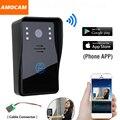 Inteligente Sem Fio Wi-fi Câmera De Vídeo Porta Telefone Campainha Intercom Monitor para IOS Android App IR de Visão Noturna Controle Remoto