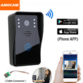 Smart Wireless WiFi Видеокамера Домофонные Дверной звонок Домофон Monitor для IOS Android App Ночного Видения ИК Пульт дистанционного управления