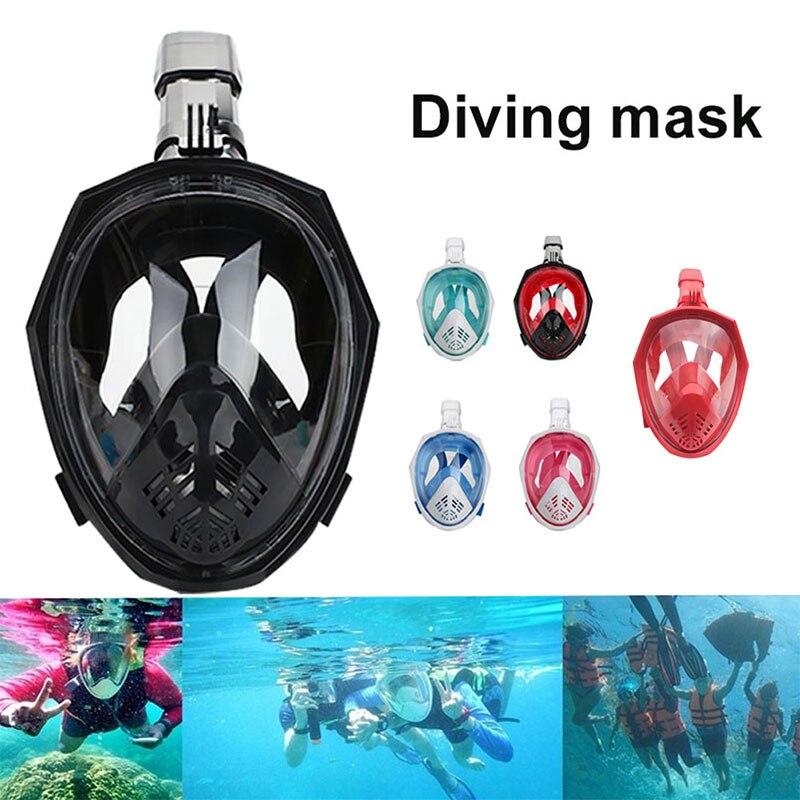Masque de natation Submersible à sec masque Natatorium masque de plongée Anti-buée