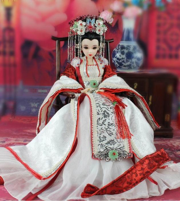 East charm Costume doll,DIY Doll ,30 cm Oriental rhyme, princess shingping including clothing Original doll limited collection