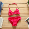 2016 girl bikini baby swimwear kids girls swim wear bikini set swimwear swimsuit cheap china clothes for sw076