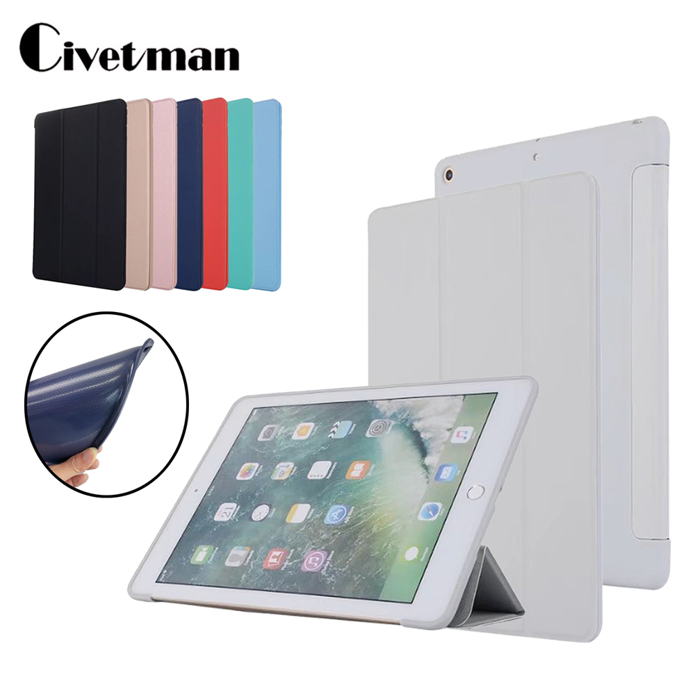 Case for iPad Air , Flip Stand Case for ipad 5 6 2017 2018, PU Leather Full Case for ipad air 2 Smart Cover for iPad Air 1 Cases