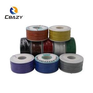 Image 5 - CBAZY 250 متر سلك كهربائي التفاف التفاف 10 ألوان ضفيرة واحدة النحاس AWG30 كابل موافق سلك وسلك ثنائي الفينيل متعدد الكلور