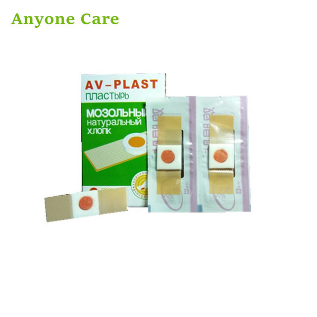 6pcsbox Foot Corn Plaster Remove Eyelet Paste Ointment Calluses