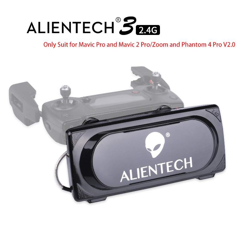ALENTECH 3 DJI Mavic 2 Pro/Zoom Phantom 4 Pro V2.0 Signal Booster Range Extender Martien Pro pour Mavic pro 1 & 2 Fly Ci-dessus 5 km