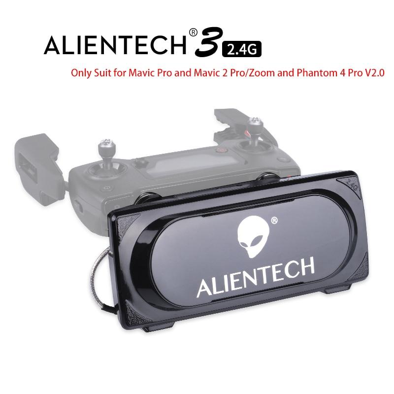 ALENTECH 3 DJI Mavic 2 Pro/Zoom Phantom 4 Pro V2.0 rango de amplificador de señal Martian Pro para Mavic pro 1 y 2 volar sobre 5 km