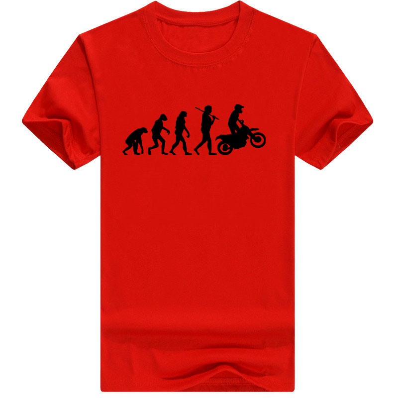 2018 High Quality   T     Shirts   Men MOTORCYCLE APE TO EVOLUTION   T     Shirt   2018 Summer Short Sleeve O-Neck Cotton Homme   T  -  shirt   Tee 4XL